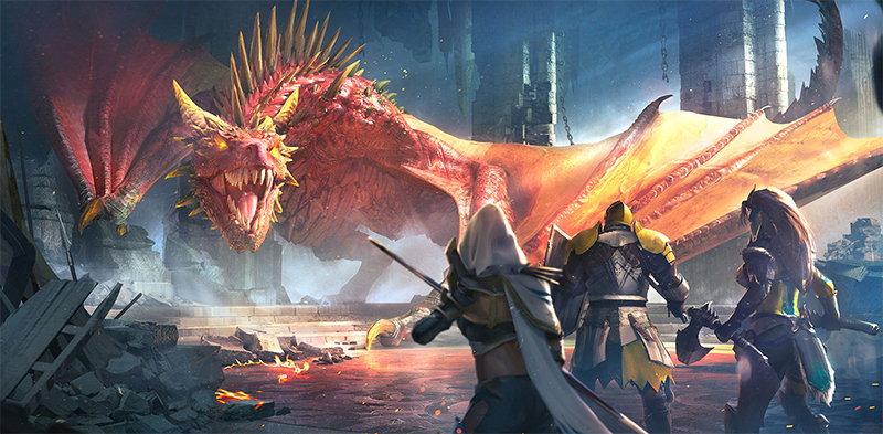 Raid: Shadow Legends фэнтезийное королевство Телерия