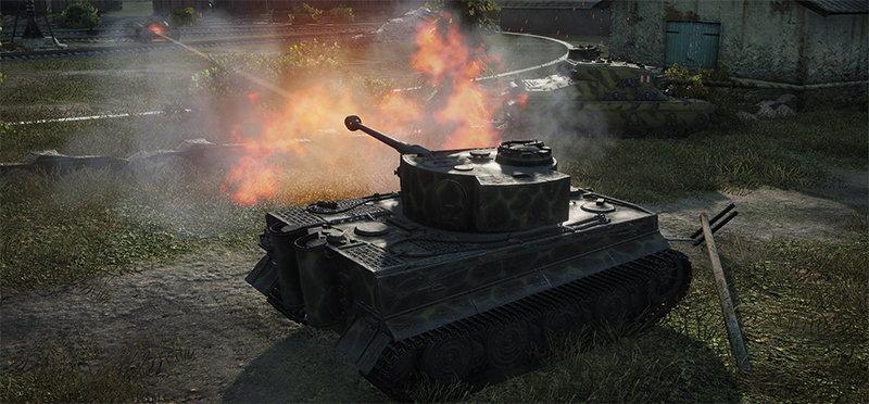 Военная ММО игра World of Tanks