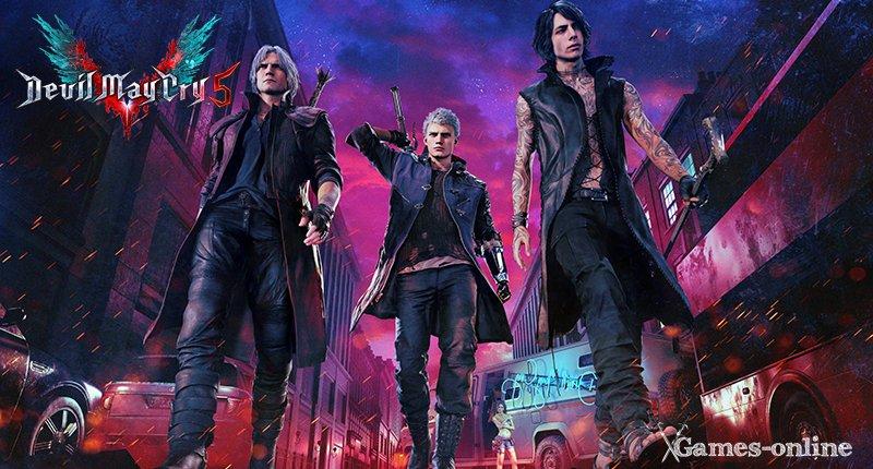 Devil May Cry 5 - игра для мощных ПК