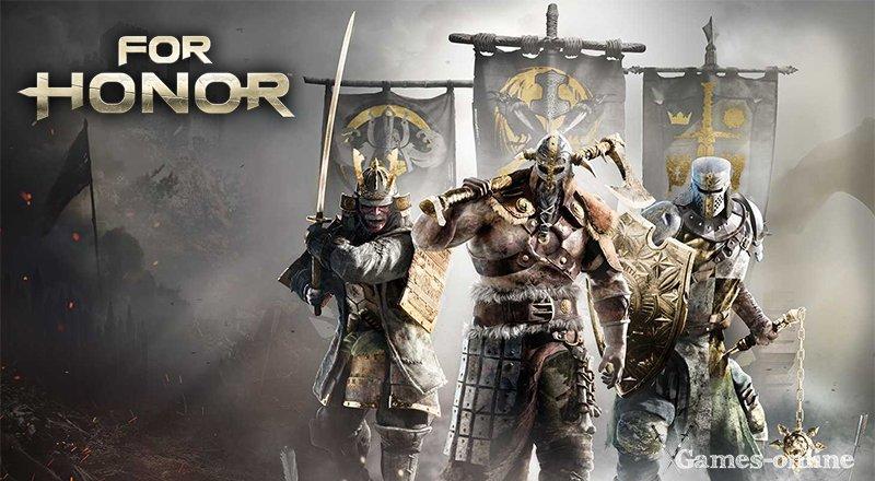 For Honor игра про рыцарей на ПК