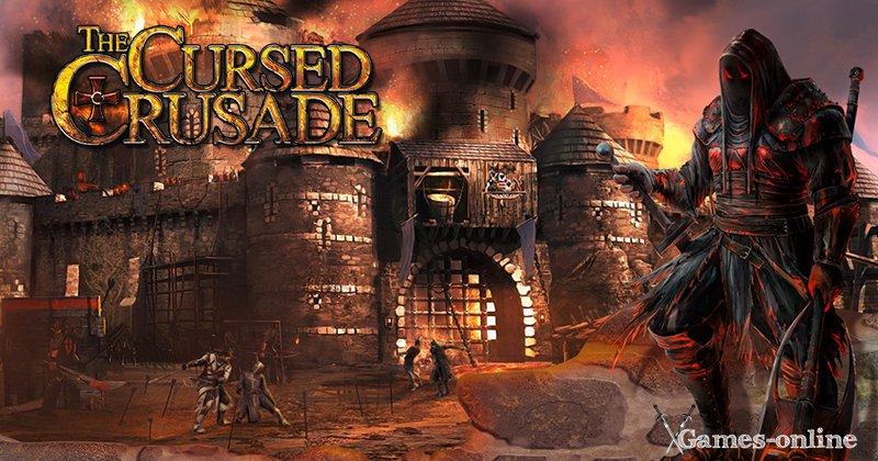 The Cursed Crusade игра про рыцарей на ПК