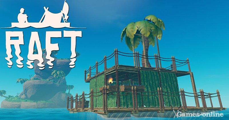 Raft - инди игра на ПК