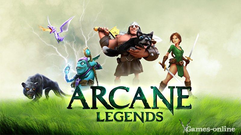 Arcane Legends мобильная ММОРПГ