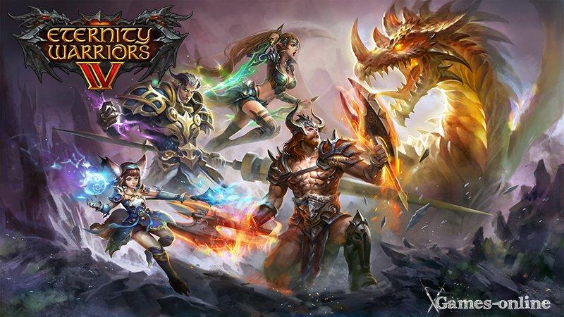 Eternity Warriors 4 мобильная ММОРПГ