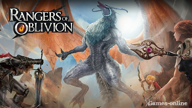 Rangers of Oblivion мобильная ММОРПГ