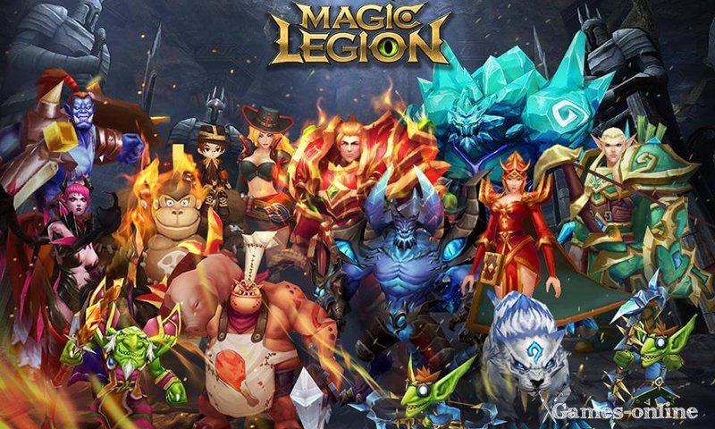 Magic Legion - Age of Heroes – Age of Hero мобильная ММОРПГ