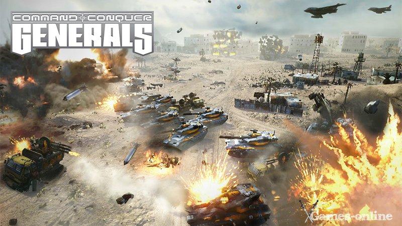 Стратегия Command & Conquer: Generals для слабых ПК