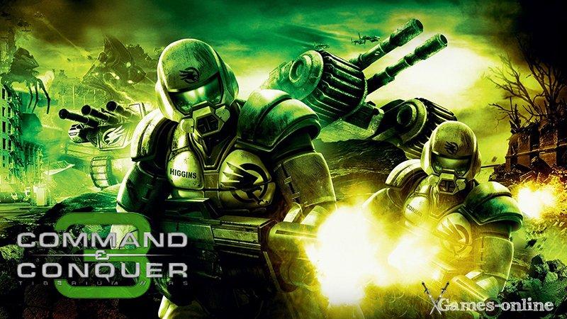 Стратегия Command & Conquer 3: Tiberium Wars для слабых ПК
