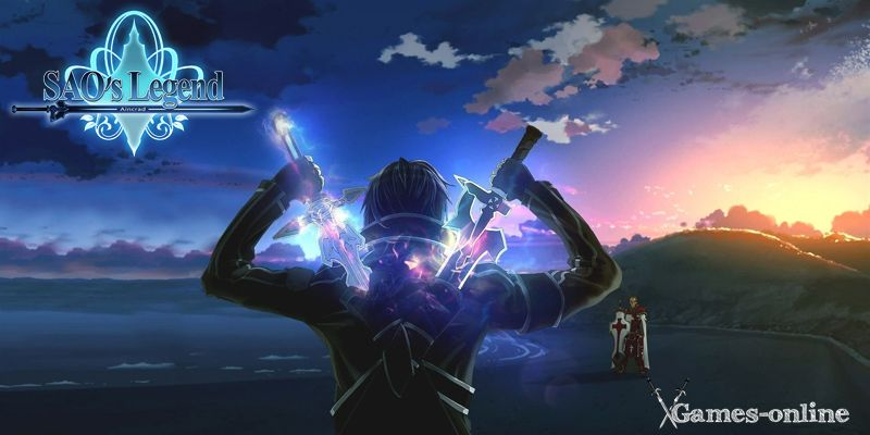 Мастера Меча Онлайн топ игра про аниме