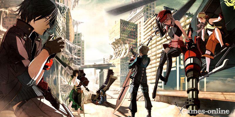 GOD EATER 2 Rage Burst аниме игра на ПК
