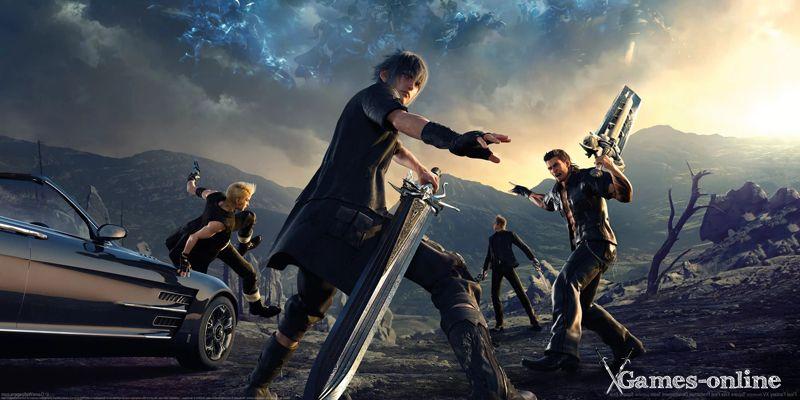 Final Fantasy (серия) аниме игра на ПК