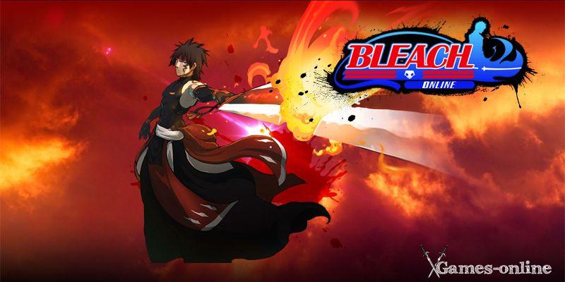 Bleach Online топ игра про аниме
