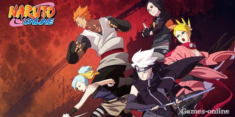 Naruto Online  топ игра про аниме