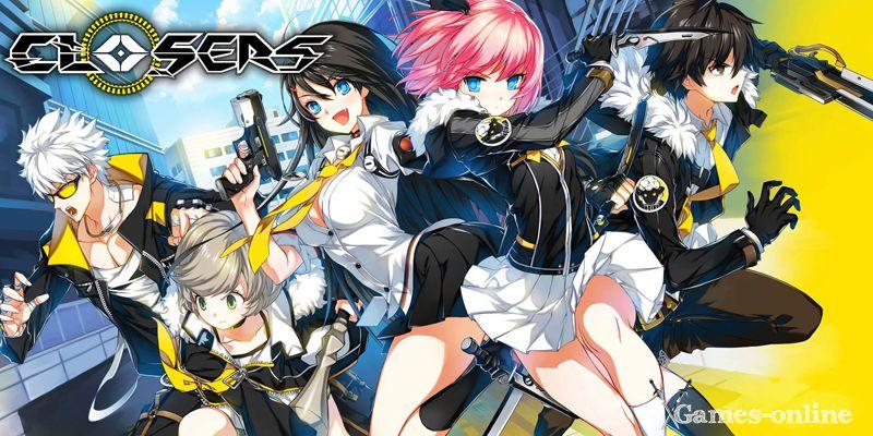 Closers ТОП игра про аниме