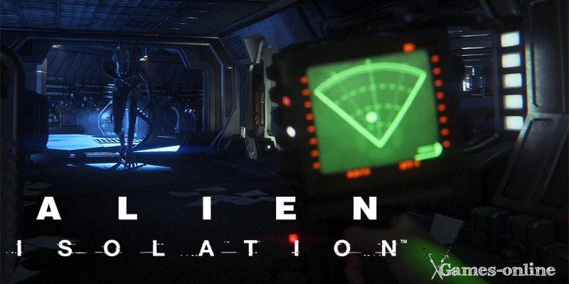 Хоррор игра Alien: Isolation