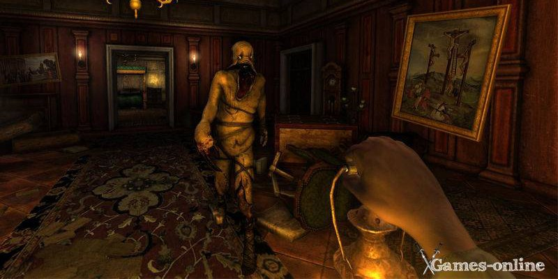 Хоррор игра Amnesia: The Dark Descent