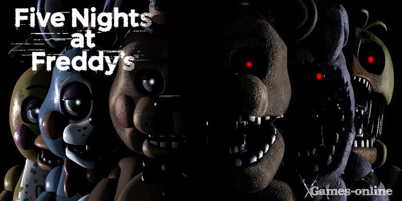 Серия хоррор игр Five Nights at Freddy's