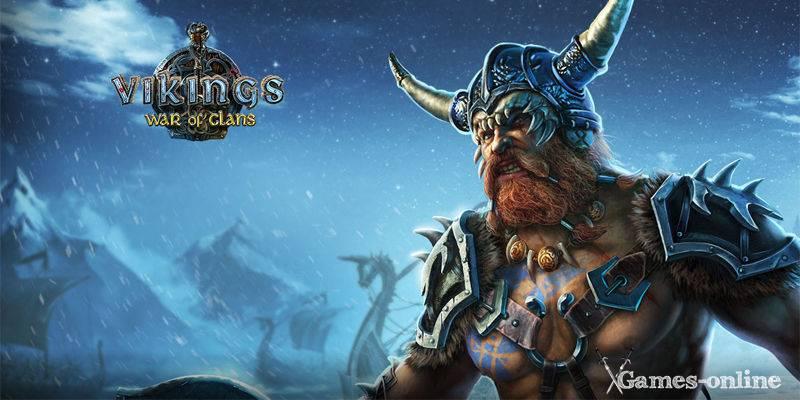 Викинги: Война Кланов онлайн игра без скачивания