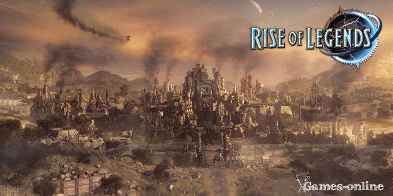 Rise of Nations: Rise of Legends игра по стеи