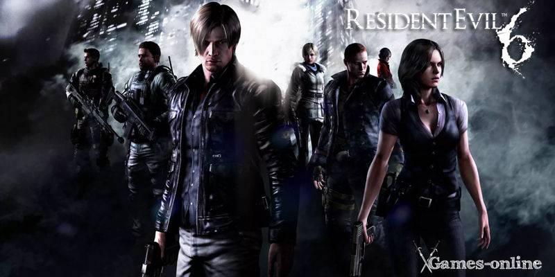 Resident Evil 6 игра по стеи