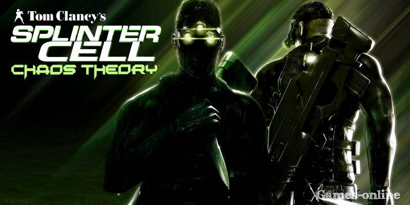 Splinter Cell: Chaos Theory игра по стеи