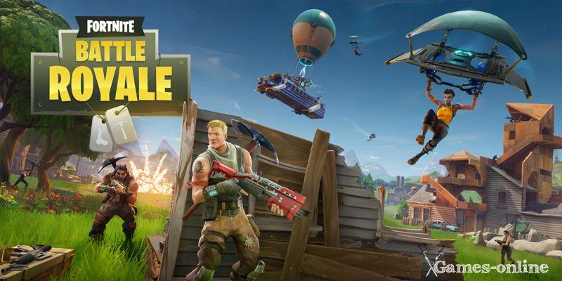 Fortnite: Battle Royale игра в жанре «Королевская битва»