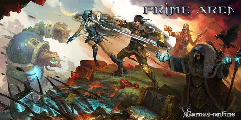 Prime Arena  игра в жанре «Королевская битва»