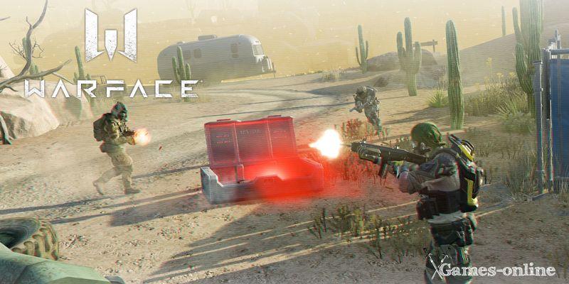 Warface - Battle Royale игра в жанре «Королевская битва»