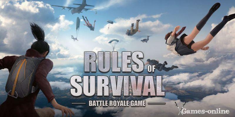 Rules of Survival игра в жанре «Королевская битва»