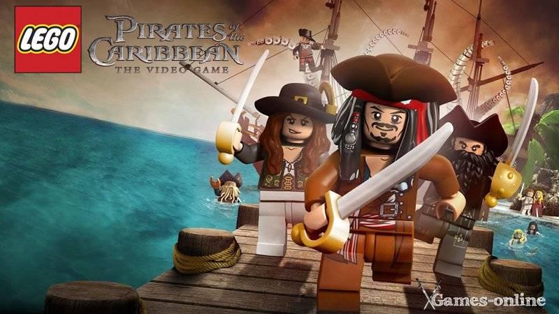 LEGO Pirates of the Caribbean игра про пиратов на ПК