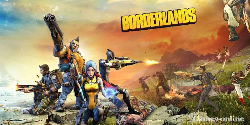 Borderlands 1/2 игра постапокалипсис