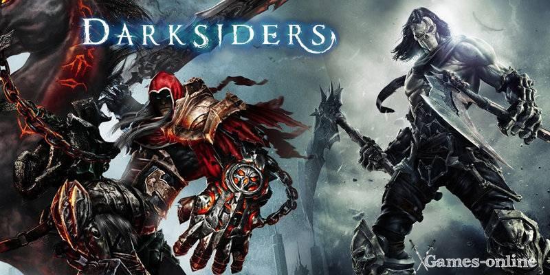 Darksiders 1,2 игра постапокалипсис