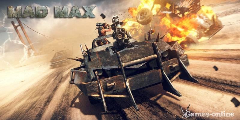 Mad Max игра постапокалипсис