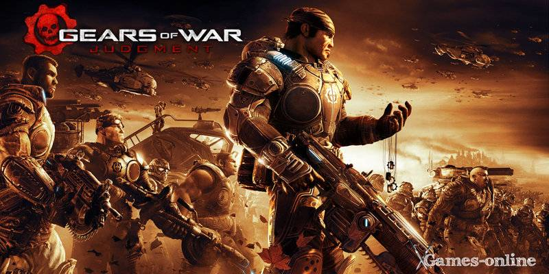 Серия игр Gears of War про постапокалипсис