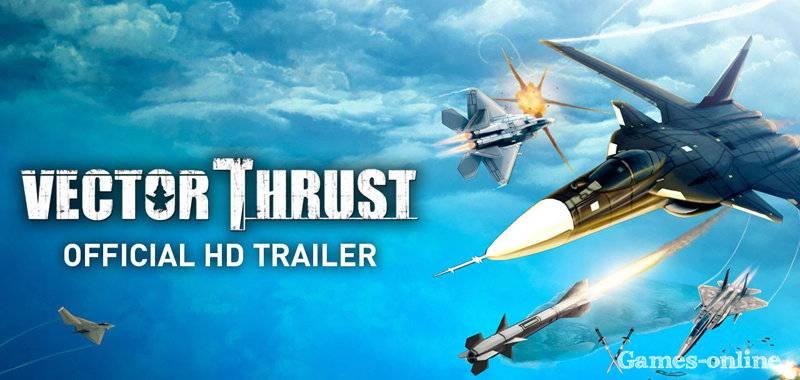 Vector Thrust игра про самолеты