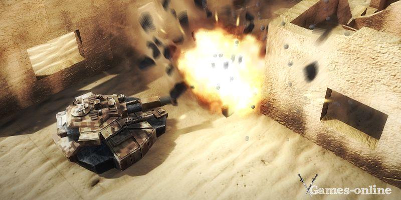 TankZone Battle игра про танки на ПК