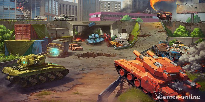 Tanki X игра про танки на ПК