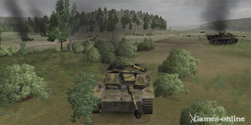 WWII Battle Tanks: T-34 vs Tiger игра про танки на ПК