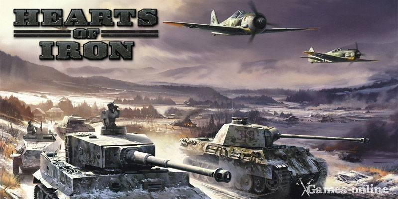 Серия игр Hearts of Iron