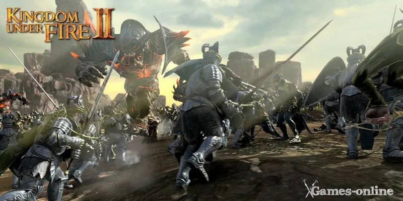 Kingdom Under Fire 2 игра с клиентом