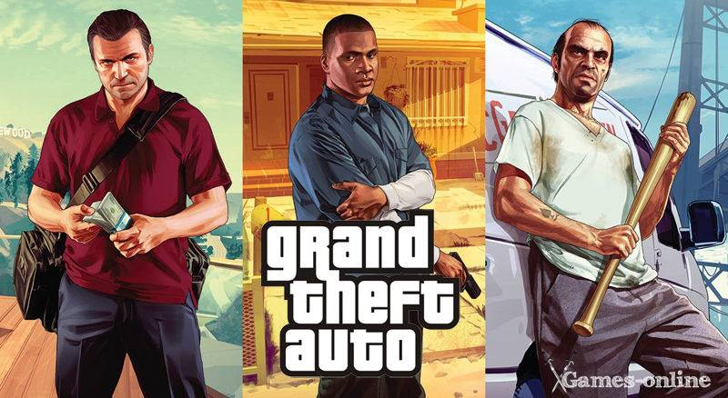 Серия игр Grand Theft Auto с открытым миром на ПК