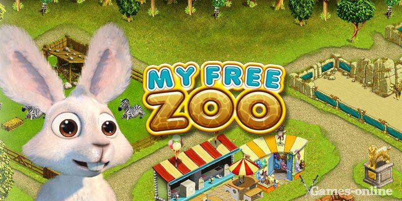 казуальная онлайн игра - My Free Zoo