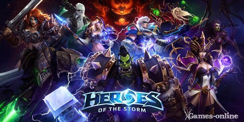 Heroes of the Storm киберспортивная игра