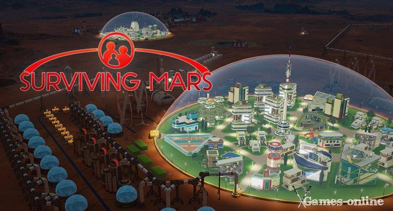 Surviving Mars градостроительные симуляторы