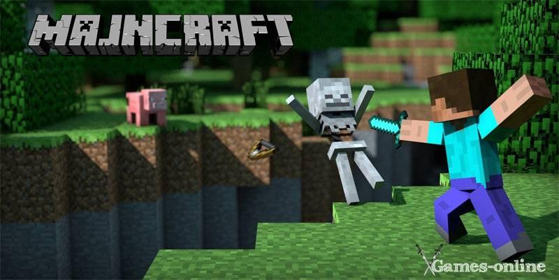 Игра Minecraft с открытым миром на ПК