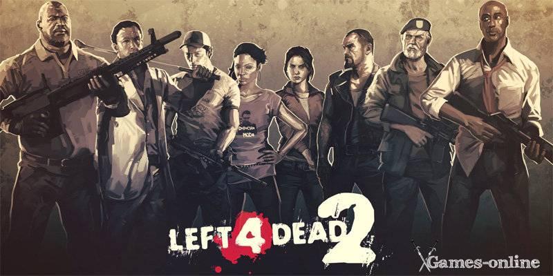 Игра Left 4 Dead про зомби апокалипсис