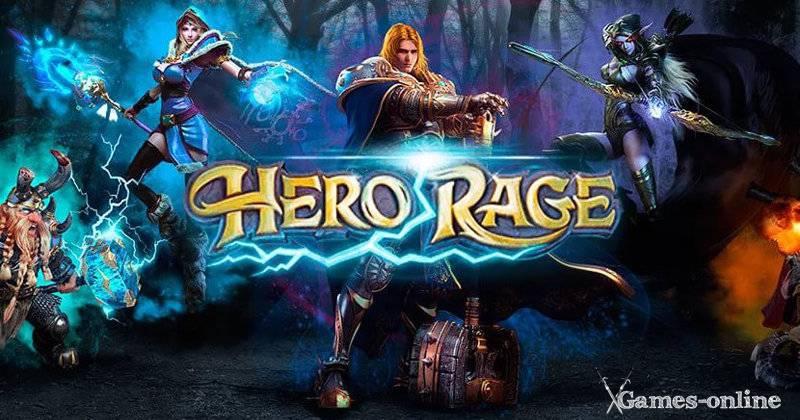 Hero Rage онлайн игра без скачивания