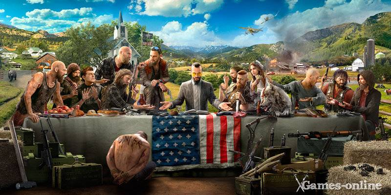 Far Cry 5 дата выхода 2018