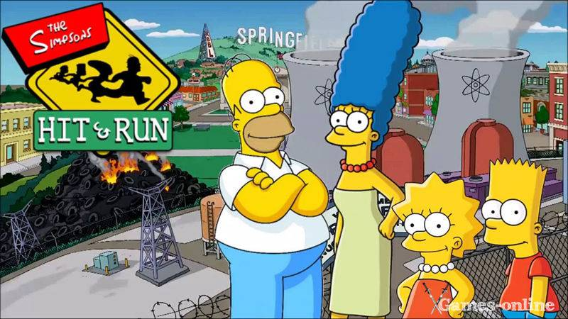 Игра для слабого ПК: The Simpsons: Hit & Run