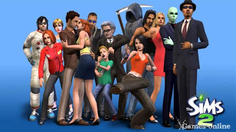 Игра для слабого ПК: The Sims 2